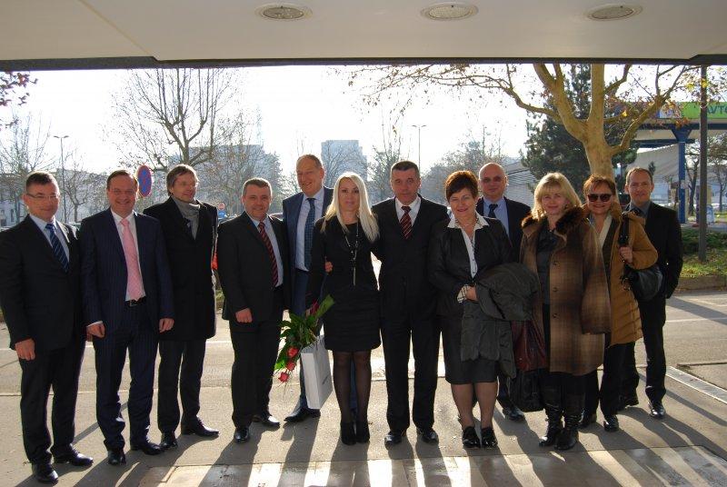 Javni holding Ljubljana je obiskala delegacija Reke